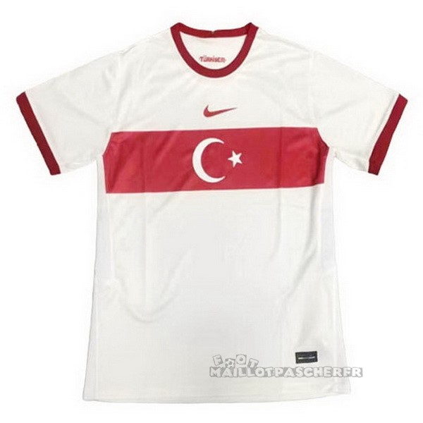 Equipement Maillot Foot Nike Exterieur Maillot Turquie 2020 Blanc