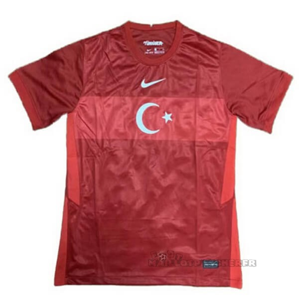 Equipement Maillot Foot Nike Domicile Maillot Turquie 2020 Rouge