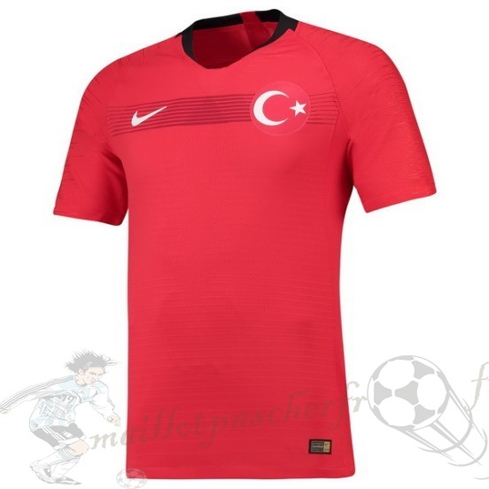 Equipement Maillot Foot Nike Domicile Maillot Turquie 2018 Rouge