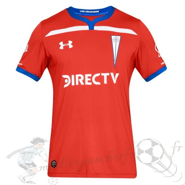 Equipement Maillot Foot Under Armour Exterieur Maillot Cd Universidad Católica 2019 2020 Rouge