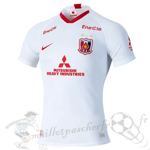 Equipement Maillot Foot Nike Exterieur Maillot Urawa Red Diamonds 2020 2021 Blanc