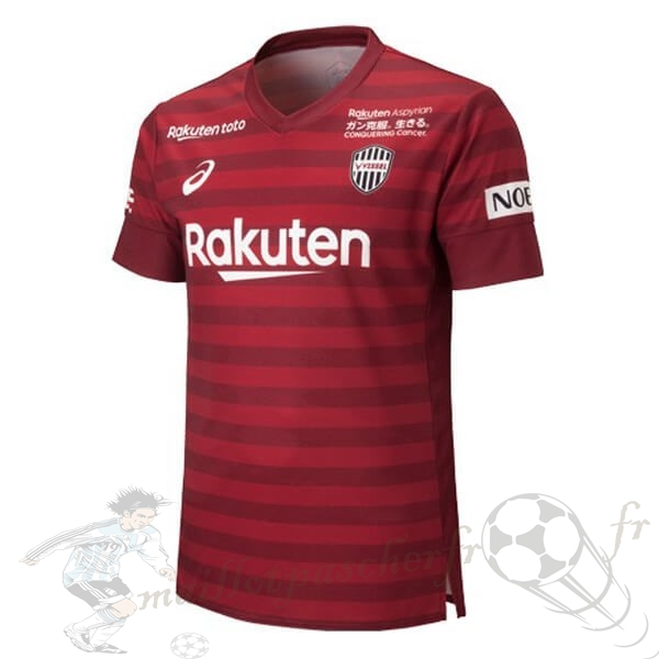 Equipement Maillot Foot Asics Domicile Maillot Vissel Kobe 2019 2020 Rouge